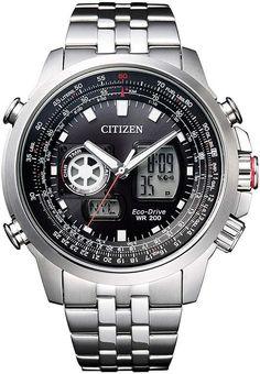 Men's Citizen Eco-Drive Promaster Sky Pilot Watch JZ1060-50E