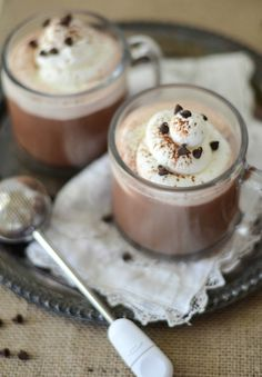 Egg Nog Topped Hot C
