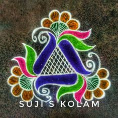 Simple and Easy Rangoli Designs With Dots For Home Best Diwali Kolam Photos Rangoli Side Designs, Easy Rangoli Designs Diwali, Rangoli Designs Latest, Simple Rangoli Designs Images, Free Hand Rangoli Design, Small Rangoli Design, Rangoli Ideas, Rangoli Designs With Dots, Kolam Rangoli