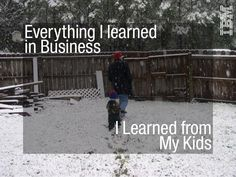 Everything I learned in Business I Learned from My Kids There is so much less to this than you think. My son reminds me that it is the simple moments of engage… Management Development, Fathers Day Quotes, Quote Of The Day, Everything, Learning, Business, Kids, Inspirational Quotes, Happy Father Day Quotes