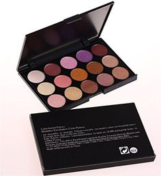 Pure Vie Professional 15 Colors EyeShadow Palette Makeup Contouring Kit with Brush  Ideal for Salon and Daily Use >>> Check out the image by visiting the link.