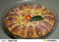 Kynutý koláč z jablečných lodiček recept - TopRecepty.cz French Toast, Pie, Breakfast, Program, Desserts, Food, Treats, Sweet, Pie And Tart