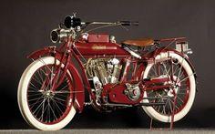 1915 Indian Big Twin Motorcycle