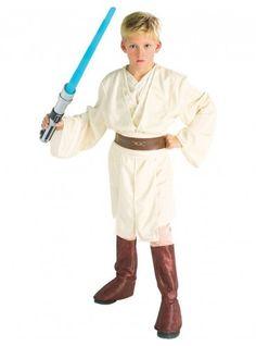 Disfraz de Obi Wan Kenobi Deluxe para niño