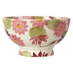 Polka Pansy Set of 2 Small Fluted Bowls Box Set by Emma ...