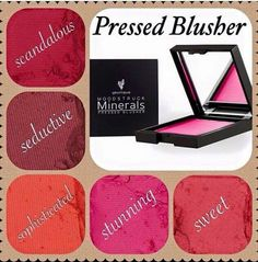 Younique pressed mineral Blush available today!!! Pick The Perfect One For You. Only $29. Host a qualifying online party and you could enjoy your new blush for Free!