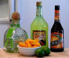 Peach Margarita's