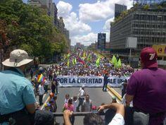 Caracas vuelve a marchar este #29M (FOTOS)