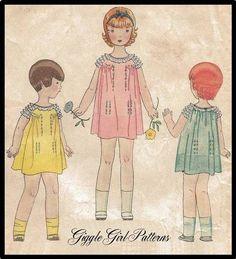 Adorable little girl's dresses!