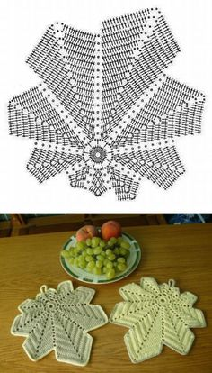 Most current Pic Crochet Doilies leaf Ideas Although most of the doilies that you see in stores today are manufactured from paper or machine lac Crochet Leaf Patterns, Crochet Leaves, Crochet Fall, Crochet Circles, Crochet Diagram, Crochet Home, Irish Crochet, Crochet Motif, Crochet Designs