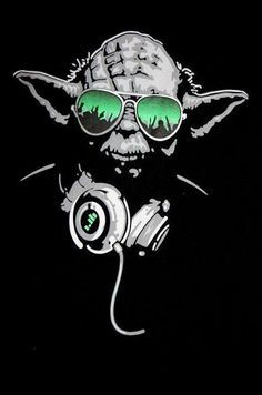 It's Hip to be Square. I love the random stuff that comes up in my feed! What the hell . Dj Yoda, Star Wars Drawings, Dope Cartoons, Posca Art, Star Wars Tattoo, Hip Hop Art, Metal Stars, Blade Runner, Star Wars Art