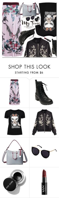 """My Time"" by oshint ❤ liked on Polyvore featuring Madden Girl, Tag and NYX"