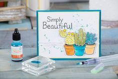 fun stampers journey | card making| Coloring System | Stuck on you stamp set