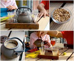 Jus de céréales sucré, Moeder Lambic, Bruxelles /  Sweet cereal juices, Moeder Lambic, Brussels