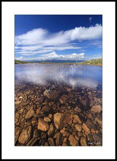 Framed fine art print - Bletoppen Mountain, Telemark, Norway. Photo: Josef Fojtik - www.joseffojtik.com - https://www.facebook.com/Fineartphotoprints