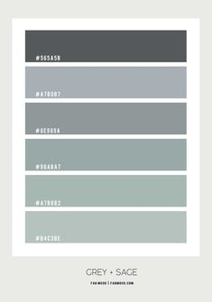 sage green and grey color palette, sage and grey color scheme, sage green and grey color palette Grey Green Bedrooms, Green Bedroom Colors, Green Bedroom Walls, Sage Green Bedroom, Bedroom Colour Palette, Green Colour Palette, Living Room Green, Bedroom Wall Colors, Green Color Schemes