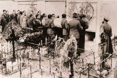 Cortejo fúnebre de Antonio Machado.