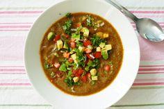 gazpacho-soup. Recipe in finnish!