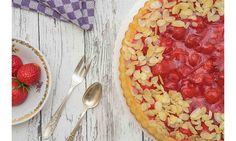 Jetzt bestellen: Erdbeerkuchen mit Vanillepudding Pie, Desserts, Food, Treats, Strawberries, Bakken, Torte, Tailgate Desserts, Cake