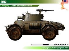 T17E3 Close Support Vehicle
