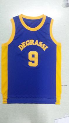 Movie Jerseys 2016 Degrassi Basketball Jersey #9 Basketball Jersey Jimmy Brooks Retro Basketball Jersey Sports Shirts Dropship