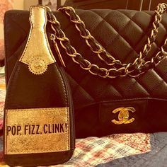 Pop Fizz Clink Coin Purse Perfect little coin pouch that can be used for just about anything in your purse. Or use it as a small clutch this holiday party! 🍾🍾🍾 No tags kate spade Accessories
