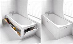 преимущества и материалы экранов для ванной комнаты