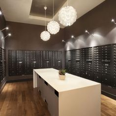 MAIL ROOMS APARTMENT BUILDING   Google Search Apartment Mailboxes, Office  Lobby, Lobby Interior,
