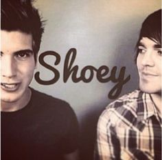 I think Joey and Shane ship shoey more than some of the fans..haha :3 Youtube couple ^^