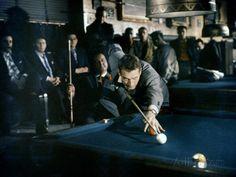 The Hustler 1961 Directed by Robert Rossen Paul Newman Fotografie-Druck