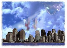 My family and I will always remember because of my nephew was born in Oklahoma one hour after it happened~ My heart goes out to these family and. Seattle Skyline, New York Skyline, 911 Memorial, We Will Never Forget, Home Of The Brave, Land Of The Free, Sad Day, World Pictures, World Trade Center