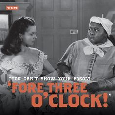 'Gone With The Wind' starring Vivien Leigh as Scarlett and Hattie McDaniel as Mammy Go To Movies, Old Movies, Great Movies, Classic Hollywood, Old Hollywood, I Movie, Movie Stars, Hattie Mcdaniel, Tomorrow Is Another Day