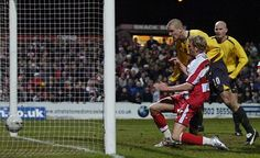 Paul Green scores in extra-time to put Rovers ahead against Arsenal in the League Cup Quarter Final at Belle Vue Doncaster Rovers, Paul Green, Scores, Arsenal, Football, Celebrities, Soccer, Celebs, American Football