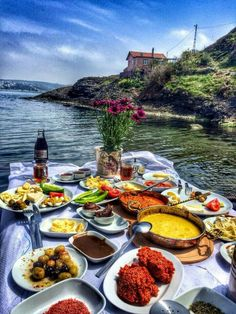 River view with Food it'll be like..