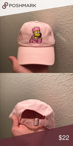 c420ac2af9f Trap Phone Bart Dad Hats Strapback Caps 100% cotton high quality caps Bart  Simpson Trappin