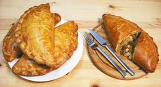 Cornish Pasty - the original convenience food. Recipe from the 1800s
