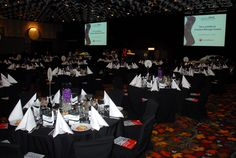 The Sofitel all set up for the 2012 Lawyers Weekly Law Awards