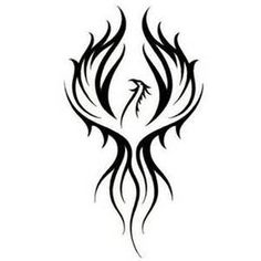 phoenix tribal tattoo designs - - Yahoo Image Search Results
