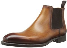$375, Emmitt Chelsea Boot by Magnanni. Sold by Amazon.com. Click for more info: http://lookastic.com/men/shop_items/143416/redirect