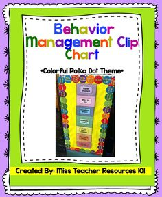 """FREE!! *All students start on Green - Ready to Learn - for a fresh start to each day! *Use clothes pins (with student names or numbers) to enforce behavior management and consequences. Students can go up or down the """"behavior ladder"""" (I like to call it the ladder in my classroom).   This is a wonderful behavior management technique because it allows students the opportunity to be rewarded with positive reinforcement, as well as consequences."""