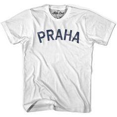 Praha City Vintage T-shirt