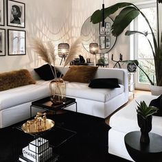 """""""the living room is definitely the heart of your home. It's where you can curl up with a book on a lazy Sunday, catch up with some friends… Living Room Inspiration, Home Decor Inspiration, Decor Ideas, Room Ideas, Casa Pop, Desgin, Glam Living Room, Rustic Living Room Decor, Ikea Living Room"""
