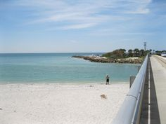 Turner Beach On The Captiva Side Has A Rock Jetty Other With Sand