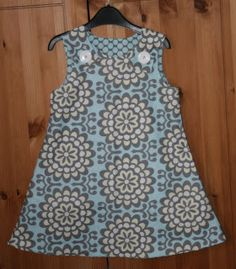 Someday I'll be........: My first ever tutorial - Reversible A Line dress