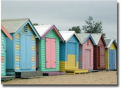 Top Beaches | Melbourne Australia Brighton Beach Huts