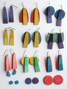 These are fab. Gonna have to get me some of these!  Tropical colors. Genevieve Williamson