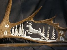 11 Remarkable Antler Carvings Will Have You In Awe
