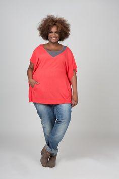 Dyanne +, Plus, Grote maten mode, plus size, Ruth