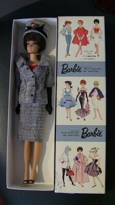 Barbie Doll Head, Barbie I, Ken Doll, Barbie World, Barbie And Ken, Vintage Barbie Clothes, Vintage Dolls, Vintage Outfits, Vintage Fashion