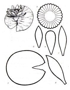 Товары для творчества - декупаж, скрапбукинг, квиллинг - Цветы из термопластика: выкройки, советы, хитрости